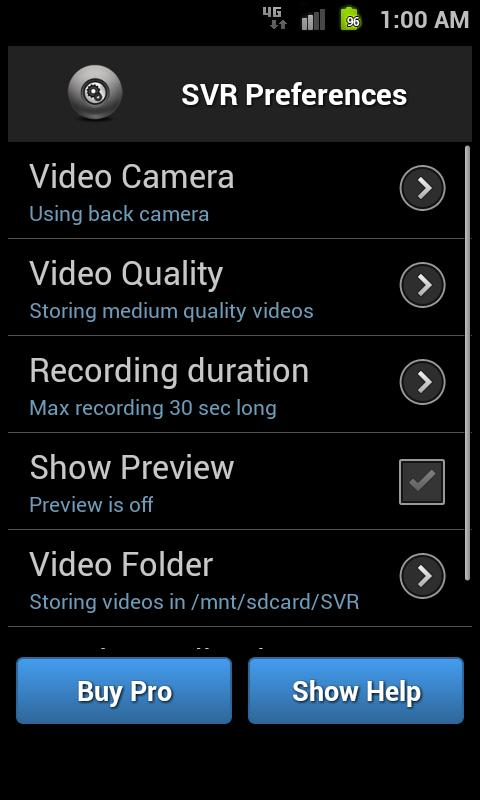 Secret Video Recorder - screenshot