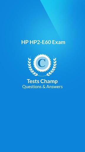 HP2-E60 Exam Questions