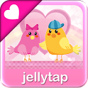 ♥ Cute Birds Love Theme SMS  ♥ icon