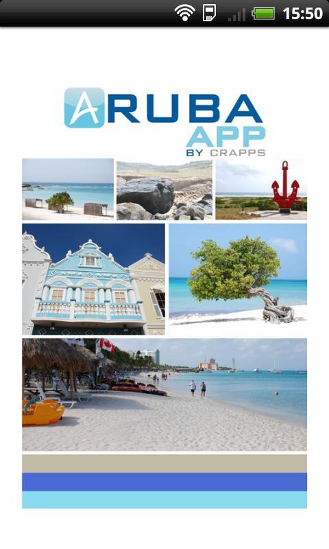 Aruba App- screenshot