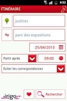 Screenshot of Irigo