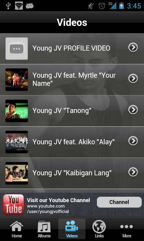 Young JV - screenshot