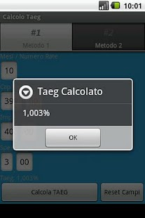Calcolo Taeg - screenshot thumbnail