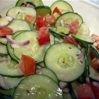 Tomato Cucumber Celery Salad Recipes.