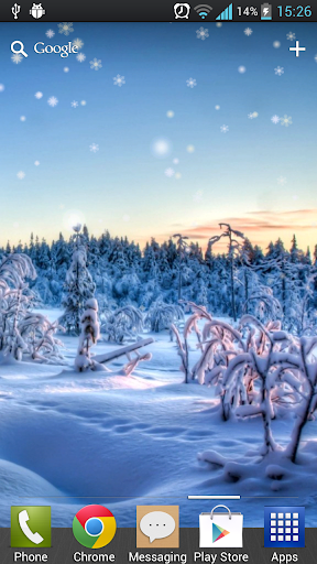 【免費工具App】冬季降雪動態桌布-APP點子