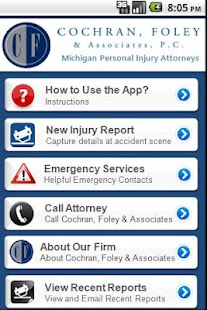 Accident  App Cochran & Foley- screenshot thumbnail