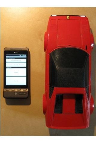 BluCar - screenshot