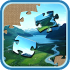 Lake Clark Jigsaw icon