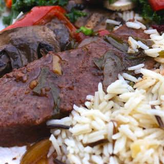 Crock Pot Beef, mushrooms and gravy.