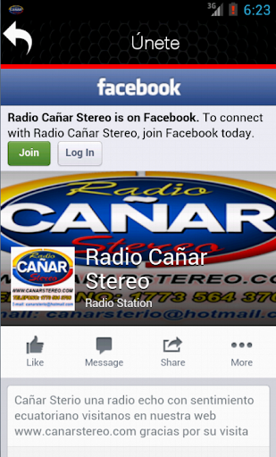 【免費音樂App】Radio Cañar Stereo-APP點子