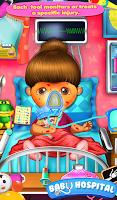 Screenshot of Baby Hospital