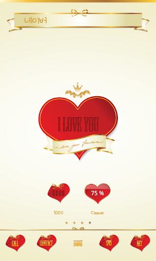 【免費個人化App】I Love You Dodol Luncher Theme-APP點子