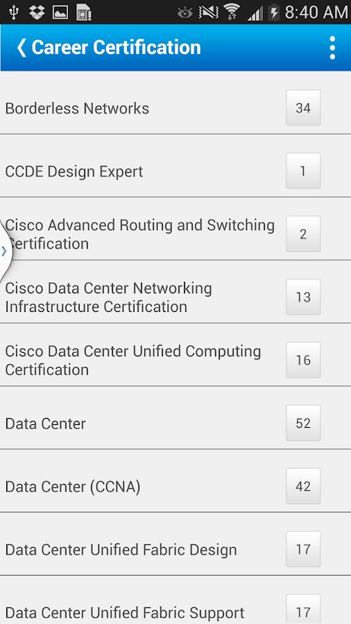 Cisco Partner Education - mPEC - screenshot