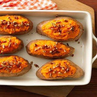 Make-Ahead Baked Sweet Potatoes.