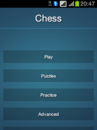 フリーチェスの練習パズル