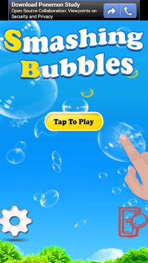 Smashing Bubbles