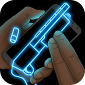 Simulator Neon Shotgun