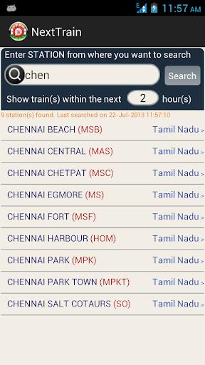 NeXT TRAIN - Indian Railway