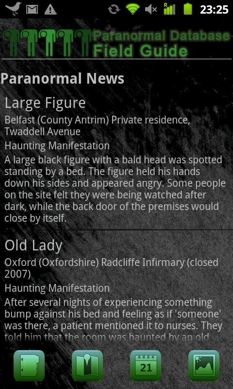 Paranormal Field Guide- screenshot