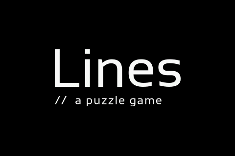 Lines – A Puzzle Game