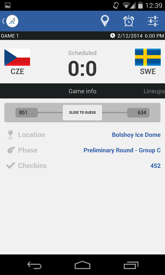 Ice Hockey - Sochi 2014- screenshot