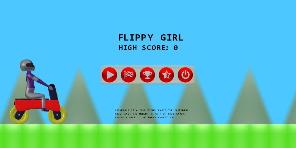 Flippy Girl - screenshot