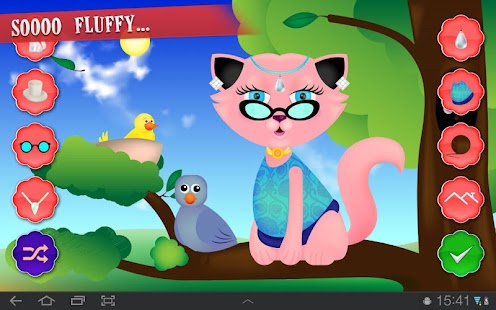 Kitty Dress Up - screenshot thumbnail
