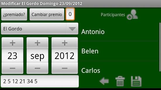 Loterias y Apuestas de España - screenshot thumbnail