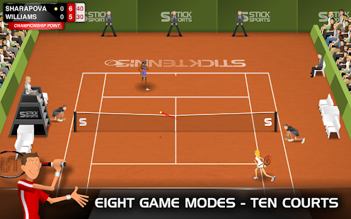 Stick Tennis Screenshot 18