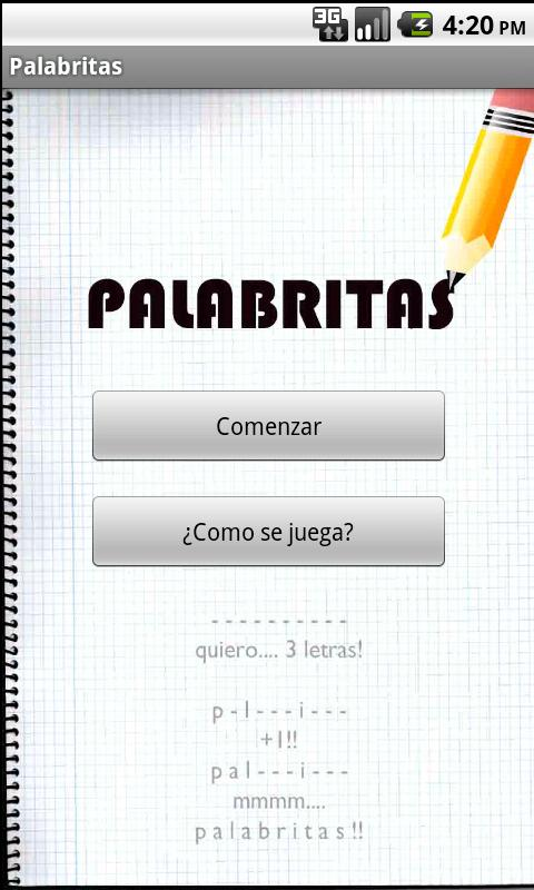 Palabritas - screenshot