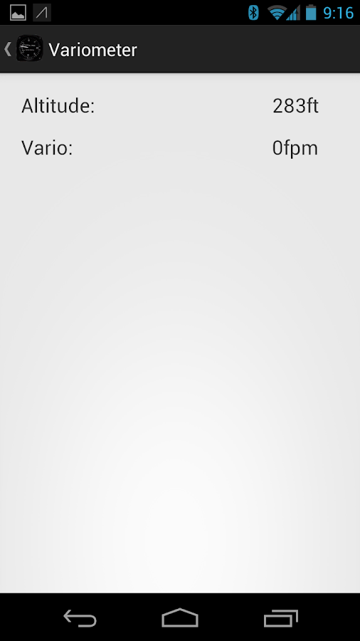 Background Vario- screenshot
