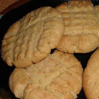 Dad's Favorite Peanut Butter Cookies.