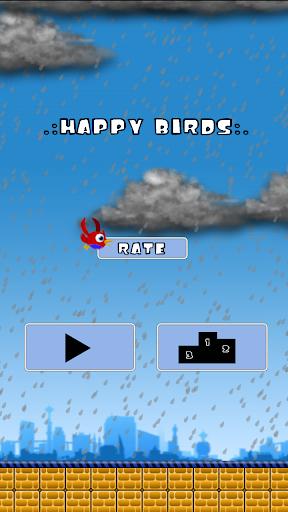Happy Flying Birds
