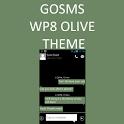 GO SMS WP8 Olive Theme icon