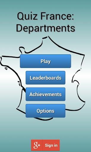 Quiz France: Departments