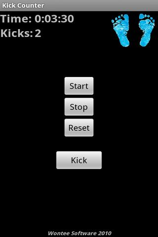 Kick Counter 1.5- screenshot