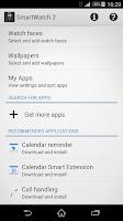Screenshot of SmartWatch 2 SW2