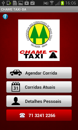 CHAME TAXI-BA