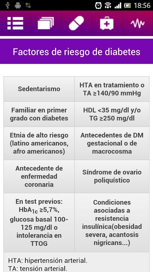 DM2 fácil mobile- screenshot