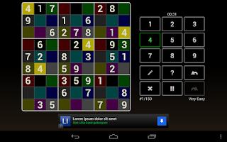 Screenshot of Andoku Sudoku 2 Free