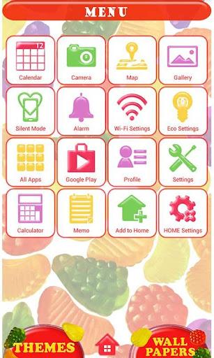 Cute Wallpaper Candy Fruits 1.1 Windows u7528 3