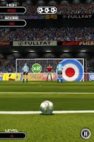 Screenshot of Flick Soccer!