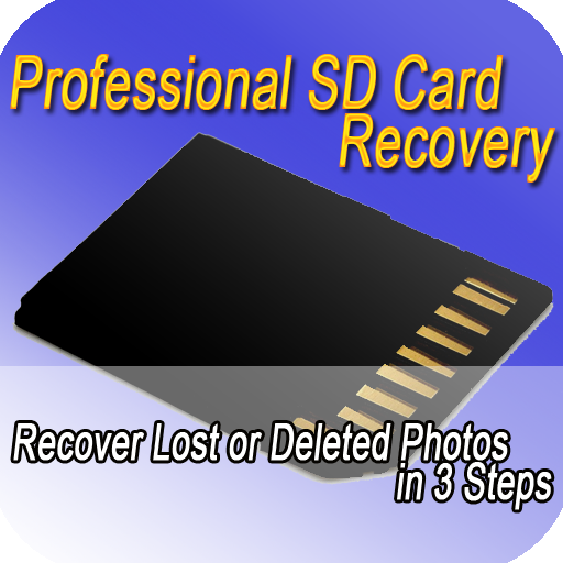 SD Card Recovery in 3 Steps LOGO-APP點子