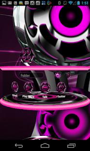 Next Launcher Theme 3D Pink|玩個人化App免費|玩APPs