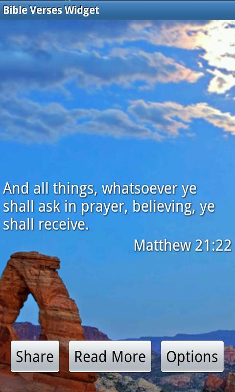 Bible Verses Widget - screenshot