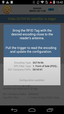 RFID Tag Finder - screenshot