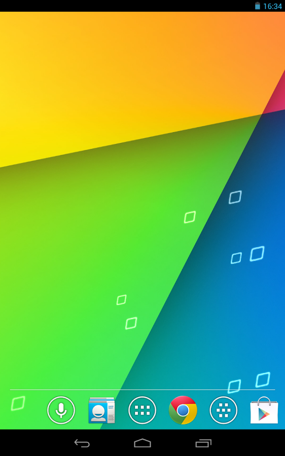Jelly Bean 4.3 Nexus Wallpaper - screenshot