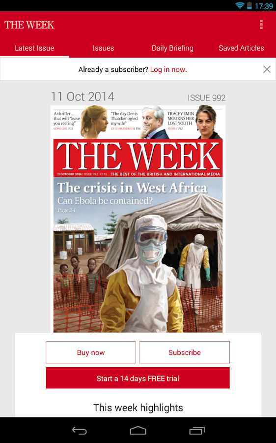 The Week UK - screenshot