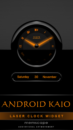 Laser Clock ANDROID KAIO