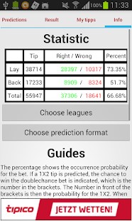Soccer Prediction - screenshot thumbnail